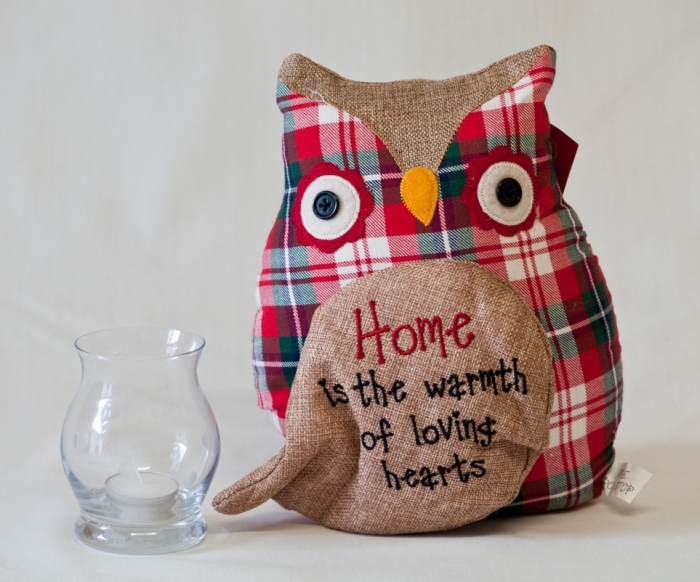 Image showing an owl doorstop. Part of our brand new stock.