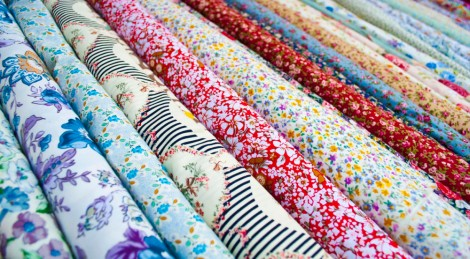 Range of fabrics