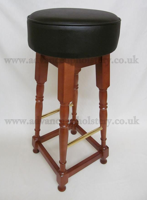 Watermarked high stool