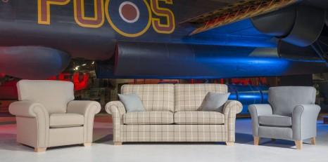 Alstons Lancaster Sofa - Jackson Cove Furniture Store - Blackpool
